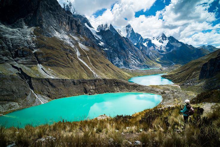 Pin On Ipad Pro Others Wallpaper: The Three Lakes Of Cordillera Huayhuash Peru [2048x1363