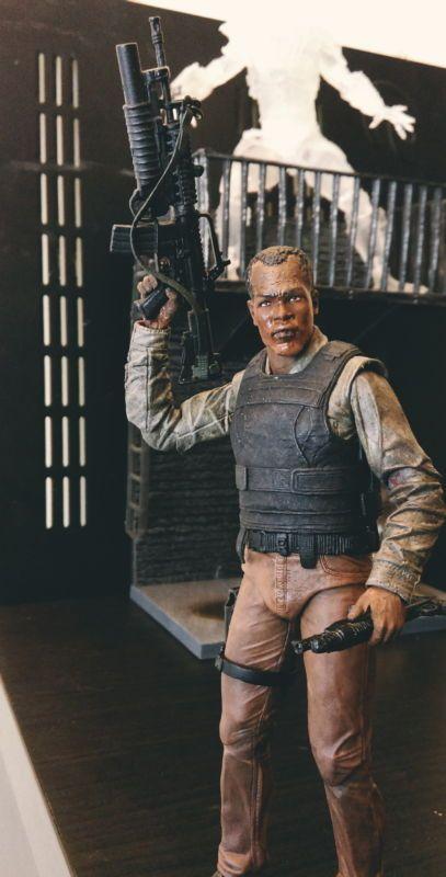 Predator 2 Lt. Haririgan (meat locker ambush) (Predator) Custom Action Figure