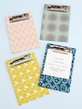 Mini Clipboards - contemporary - desk accessories - Papermash