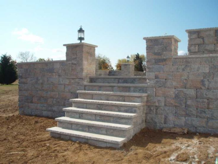 Custom Raised Patio Design And Construction In New Jersey By Millenium Stone  Works.