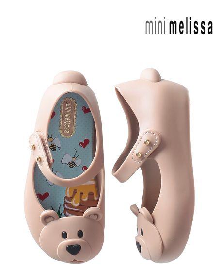 Sapatilha Mini Melissa Ultragirl Bear
