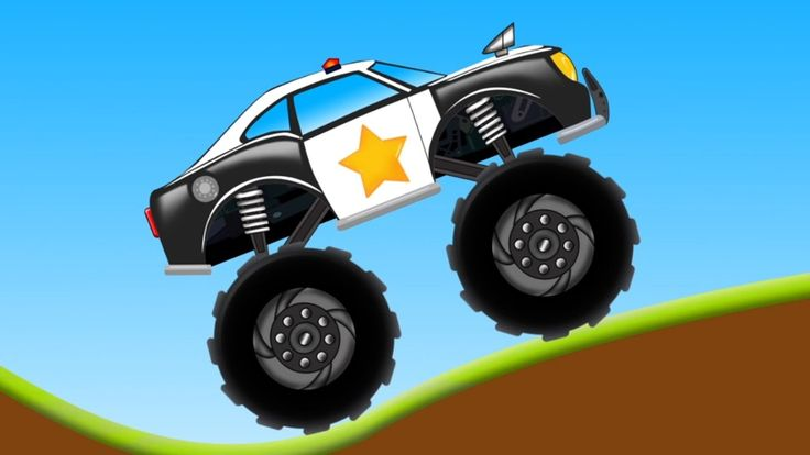 police monster truck | toy factory | trucks cartoon for kids & toddlers