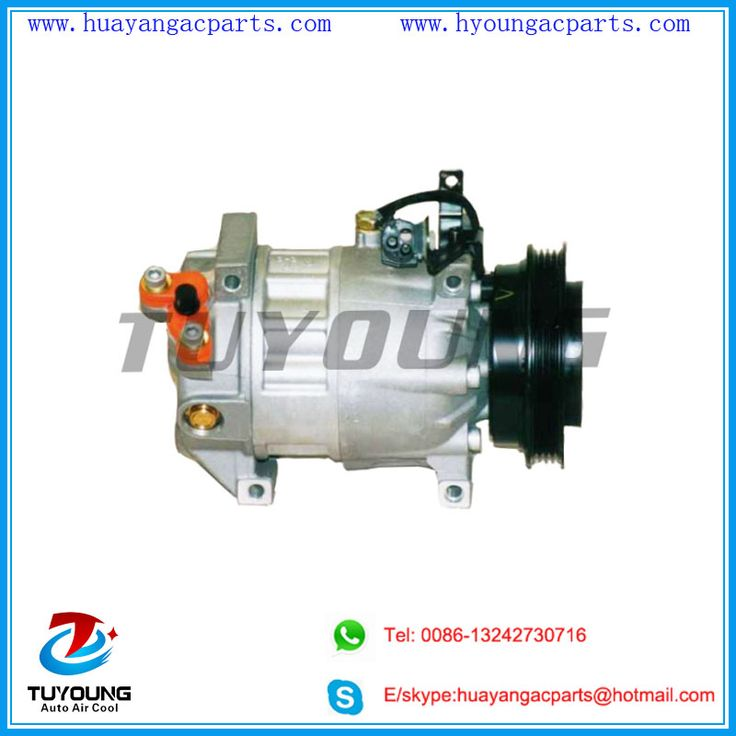 6ca17c 4pk 126mm 12v air conditioning compressor
