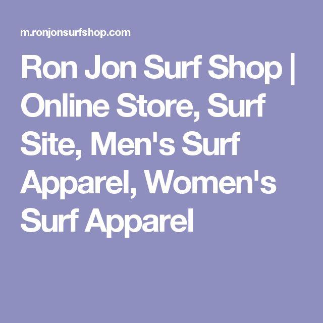 Ron Jon Surf Shop | Online Store, Surf Site, Men's Surf Apparel, Women's Surf Apparel
