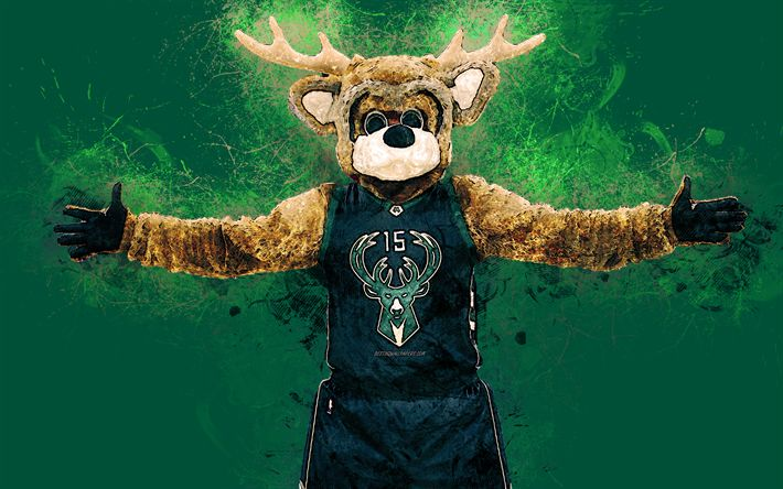 Download wallpapers Bango, official mascot, Milwaukee ...