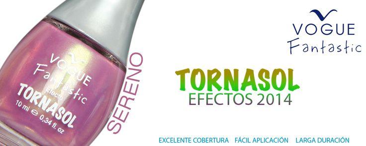 Sereno Esmaltes VOGUE Fantastic  TORNASOL Colección Efectos 2014