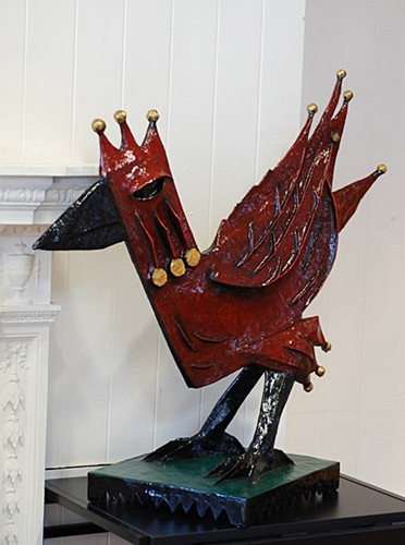Graham Knuttel ''Bird-Available in Cast Bronze'' #art #sculpture #DukeStreetGallery #bird #GrahamKnuttel