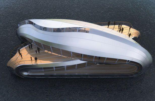 River Boat Concept Was Designed As Part Of Estuaire