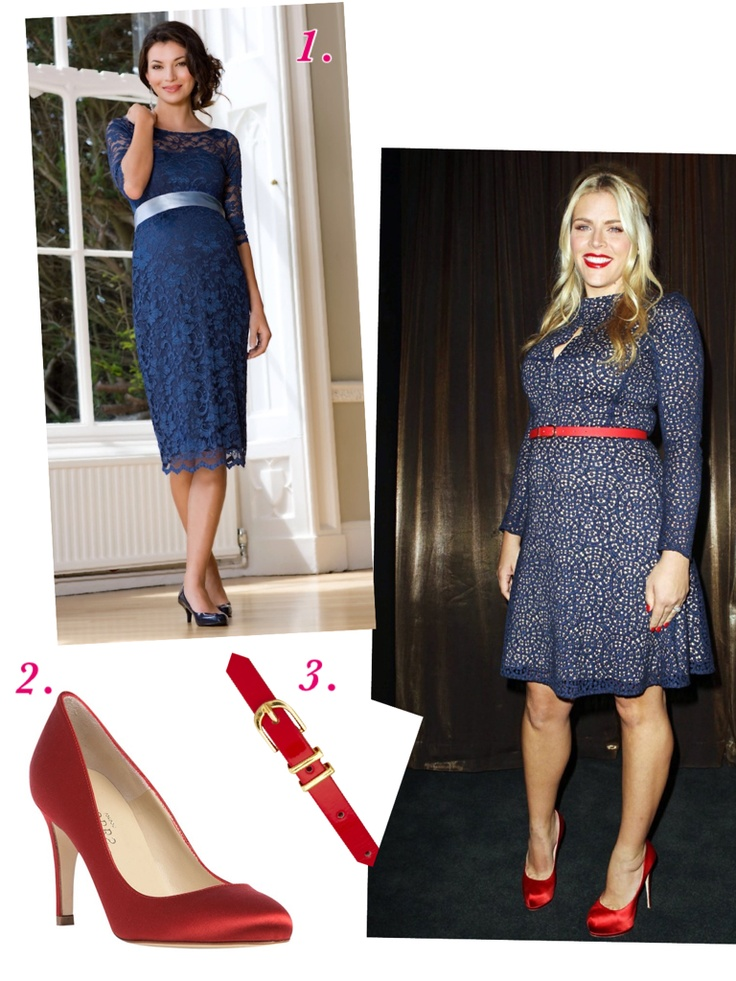 CELEBRITY MATERNITY STYLE: Busy Philipps. Shop the look at http://www.highstreetmama.com.au/Dresses/Me-a-Mama-lace-JackieO-maternity-dress