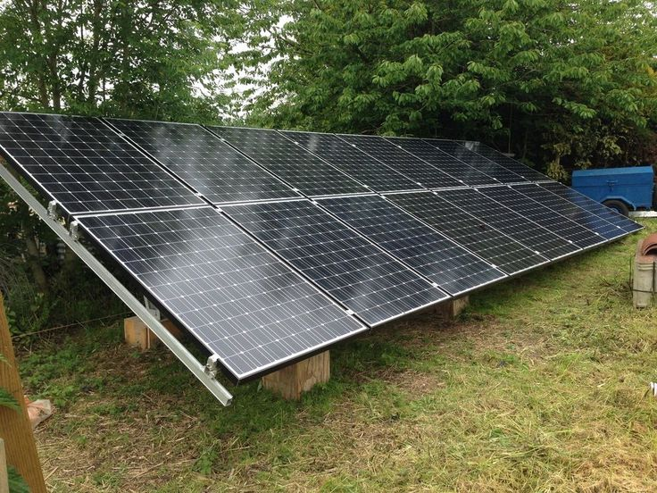2KW (2400w) SOLAR PANEL PHOTOVOLTAIC OFF GRID STAND ALONE