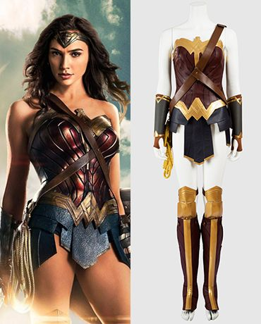 Tailor Made Wonder Woman Cosplay Costume for Sale - XCOOS