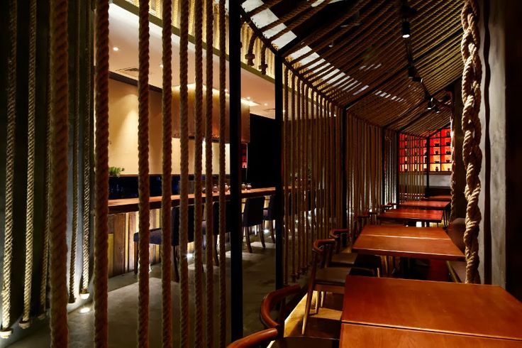 """"""" Kemuri"""" restaurant designed by Prism Design."""