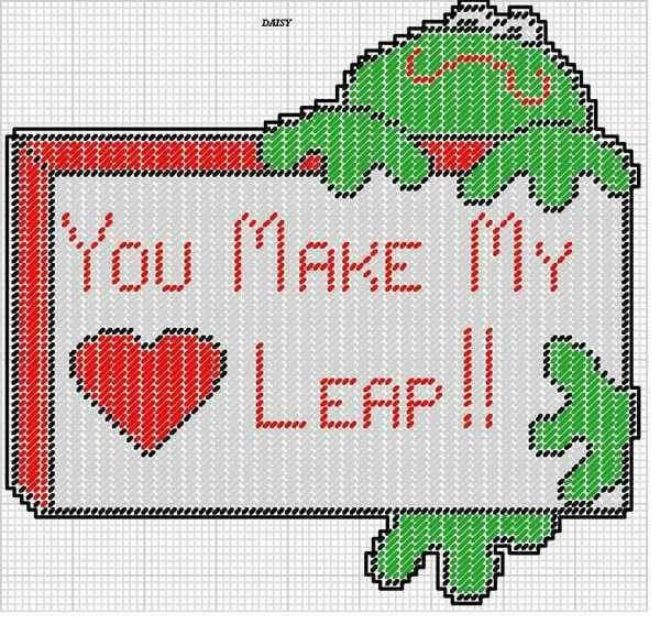 17 Best Images About Frogs Plastic Canvas On Pinterest