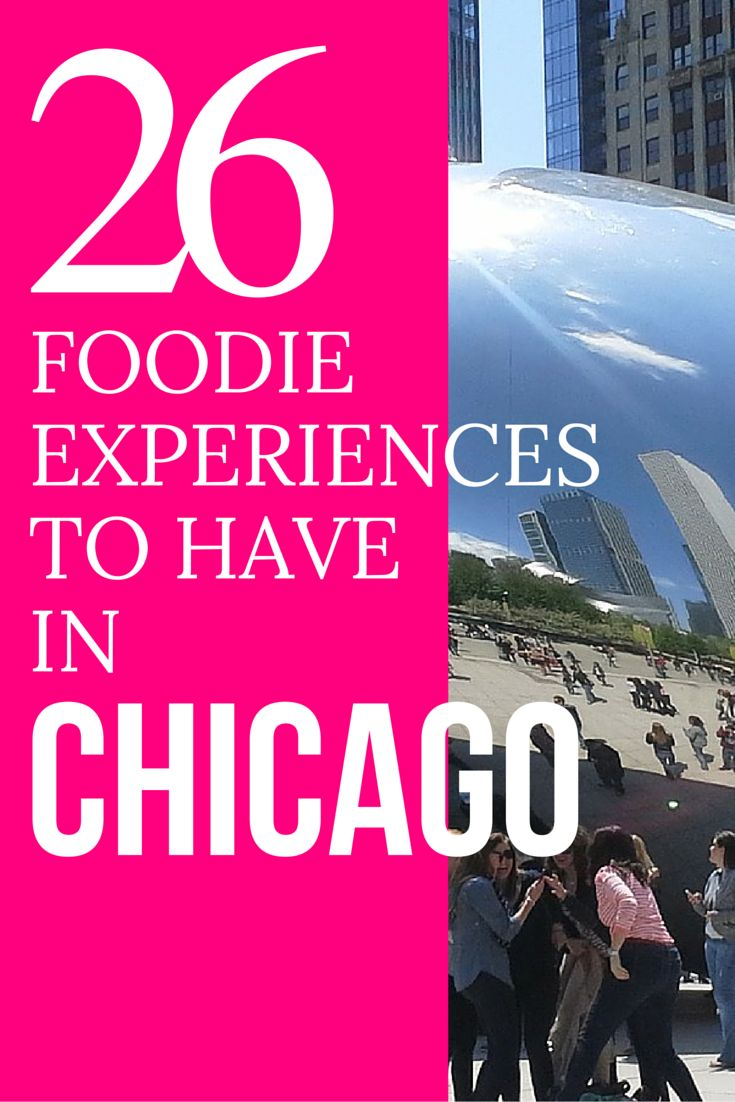Planning to head to Chicago? Looking for things to do while you're in the windy city. Well get ready to add 26 foodie experiences to have when you're in Chicago, Illinois. (WARNING: your mouth may start to drool.) Discover the world at MatadorNetwork.com
