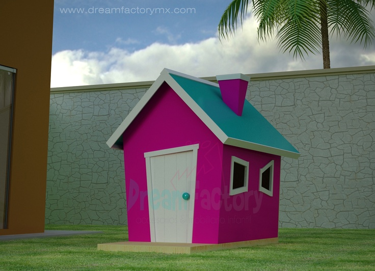 Originales casitas de madera para ni os casitas de for Casitas de madera infantiles