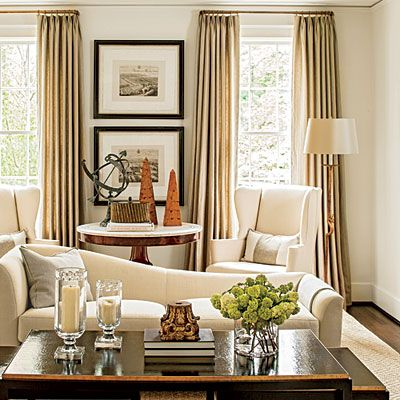 The Living Room - The Editor's Editor: Lindsay Bierman's Birmingham Home - Southern Living