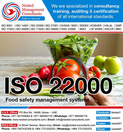 Food Safety System Certification 22000 (FSSC 22000) is an