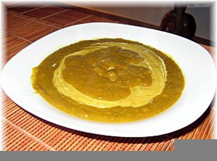 Soupe de lentilles aux épinards