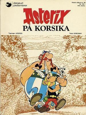 """""""Asterix på Korsika"""" av René Goscinny"""