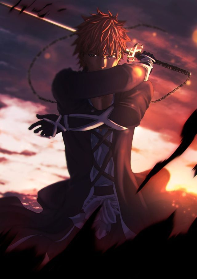 h-he looks really hot....... damn it. *nose startes to bleed*