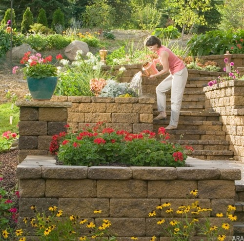 12 Great Ideas For A Modest Backyard: 12 Best Raised Ranch Landscaping Images On Pinterest