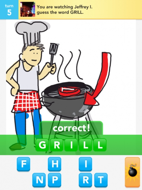 Draw Something Grill