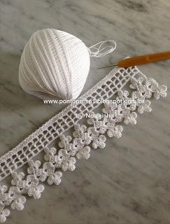 #144 Crochet Lace Edging Trim