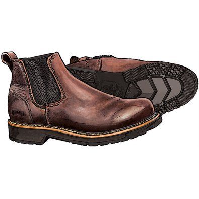 Mens Slip-on Work Boots, from Duluth Trading Company, made in the USA