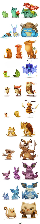 Just Some Pokemon Art