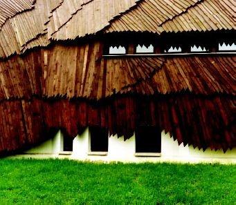 Village Community Centre by Makovecz Imre