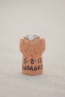 #TheJewelleryEditorLoves the perfect engagement announcement. Bring on the champagne! #BrideToBe