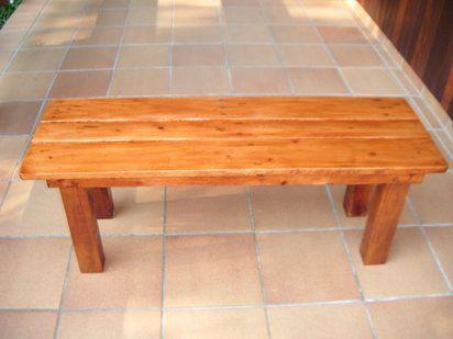 Banco de terraza con madera de palet | Hacer bricolaje es facilisimo.com