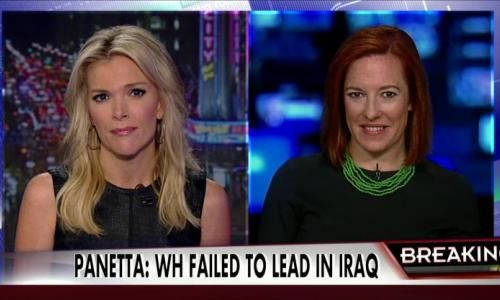 'There it is!' Megyn Kelly leaves Jen Psaki dumbfounded in Perry Mason moment
