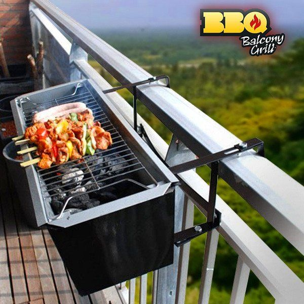 BBQ QUICK BALCONY CHARCOAL BARBECUE - Geeks Buy Gadgets
