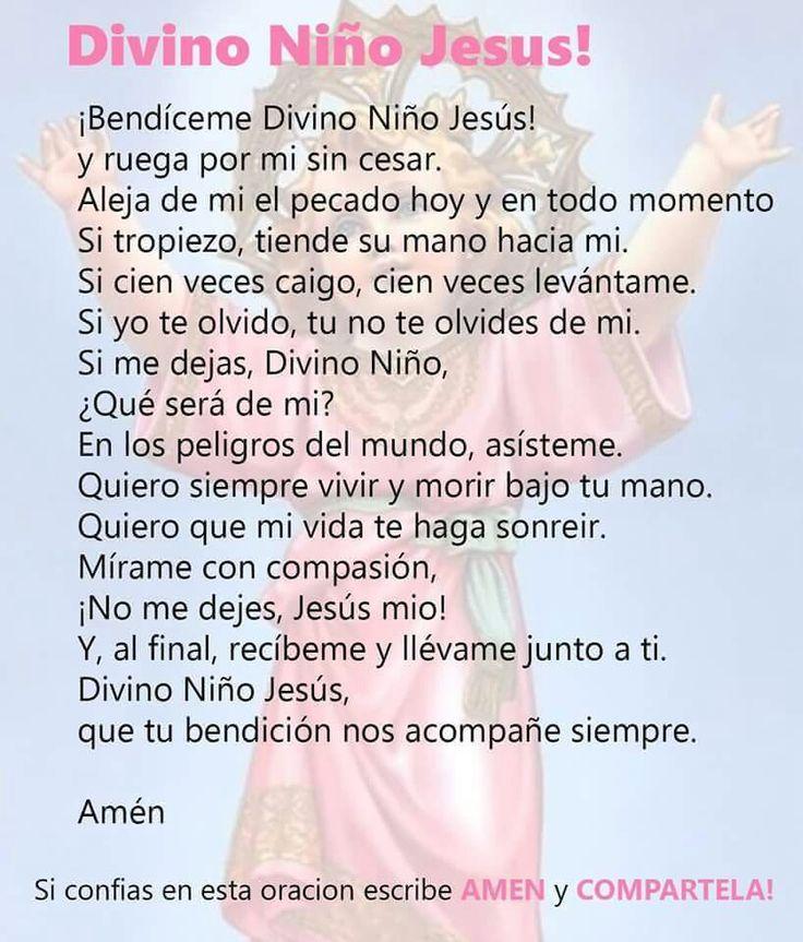 Oración al Divino Niño
