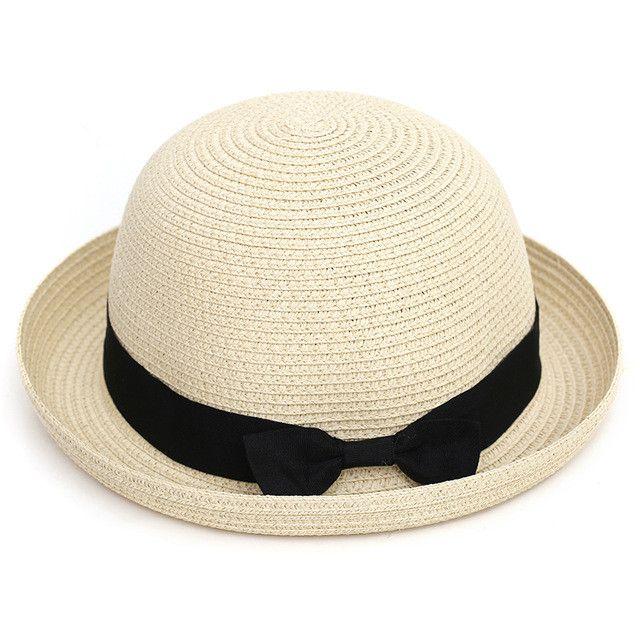 [Dexing] Wholesale Fashion Straw sun hats for women travel Outdoor fold Beach hat girls summer hats for women