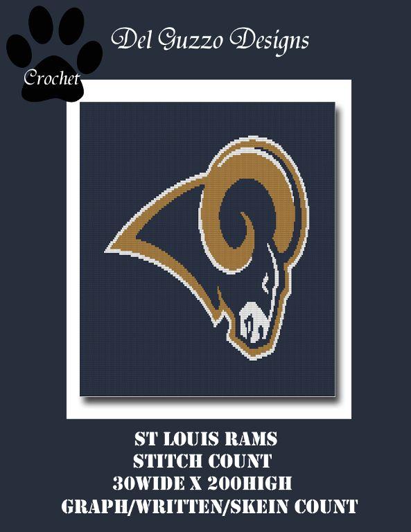 St Louis Rams Crochet Graph St Louis Rams Crochet And