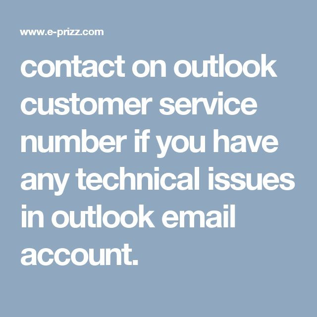 contact on outlook customer service number if you have any technical issues in outlook email account.