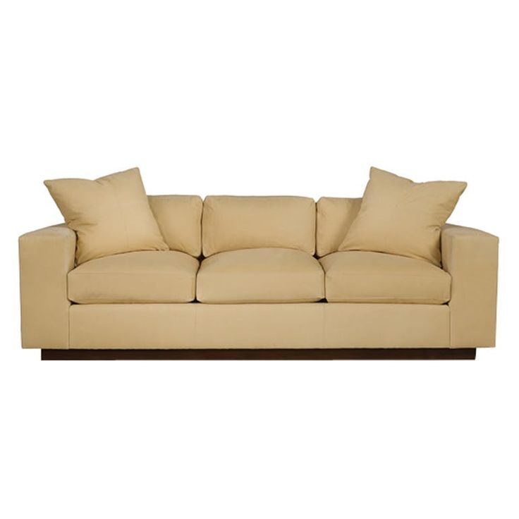 Kennedy Sofa Contemporary, Upholstery Fabric, Wood, Sofas Sectional by Edward Ferrell Lewis Mittman