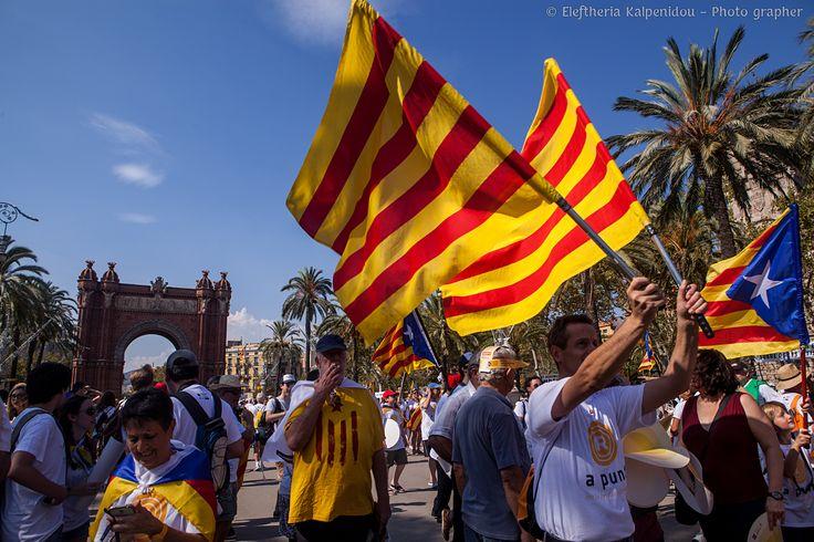 The National Day of Catalonia (Catalan: Diada Nacional de Catalunya ) is a day-long festival inCataloniaand one of its official nat...