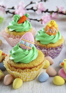 Cupcakes di Pasqua golosi http://www.gustissimo.it/ricette/biscotti-dolcetti/cupcakes-di-pasqua-golosi.htm