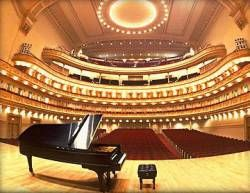 Carnegie Hall Stage, New York   (Yes, I was actually ON stage, performing)