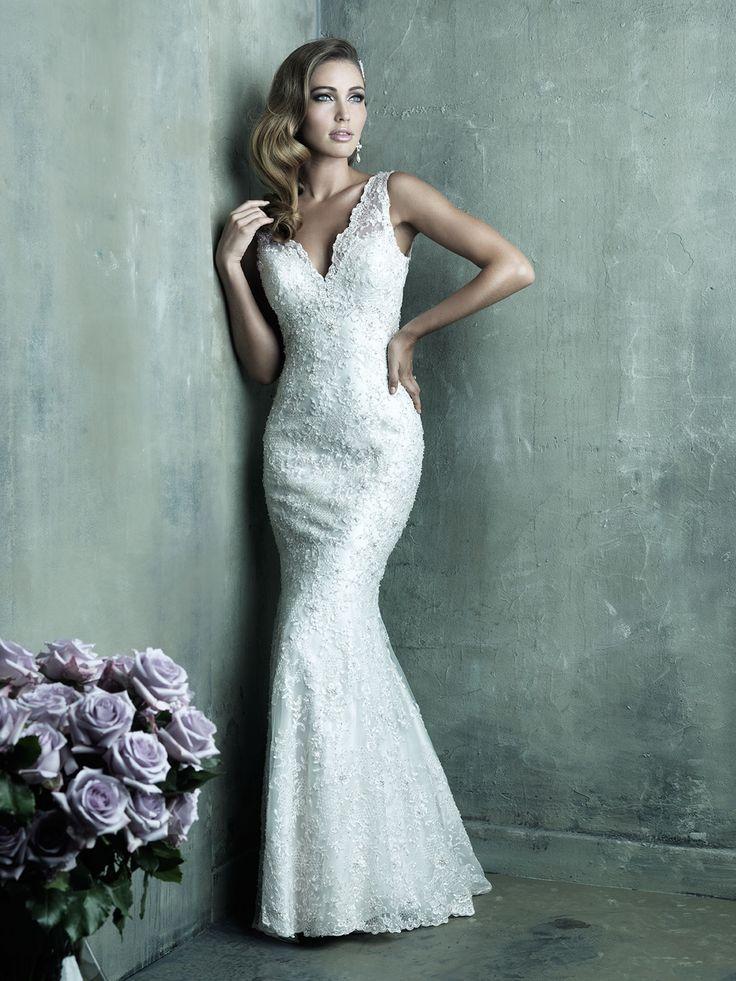 21 best Lace Wedding Gowns images on Pinterest   Bridal dresses ...