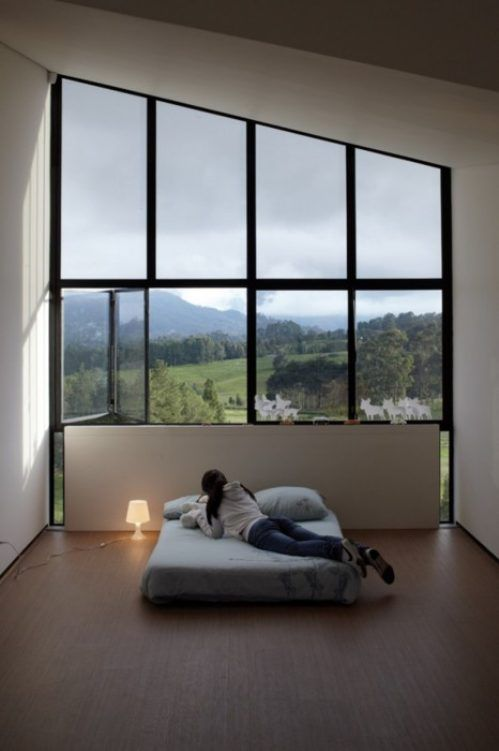 A wall of windows.....