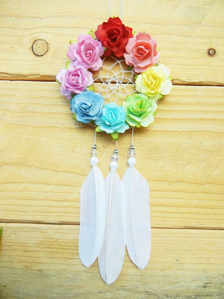 Rainbow Dream Catcher, Jeep Accessories for Interior, Kawaii Car Charm, Teen Girl, New Car Gifts