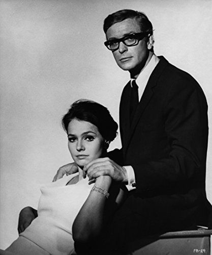 Michael Caine and Eva Renzi in Funeral in Berlin (1966)
