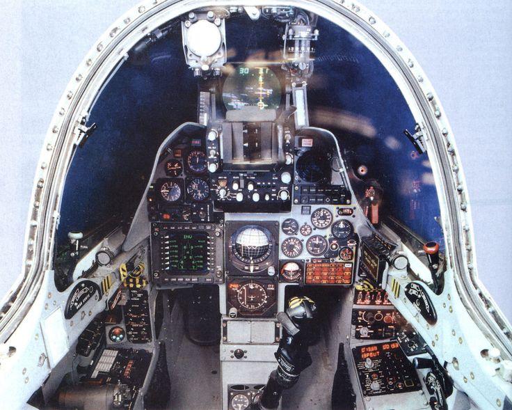 IAI Kfir cockpit