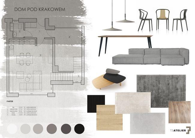 Nasz nowy projekt, realizacja na samej końcówce. Autor Karolina Mizińska. Więcej na: http://t3atelier.pl/projekt-wnetrz-domu-w-okolicach-krakowa  #design #vitra #Noti
