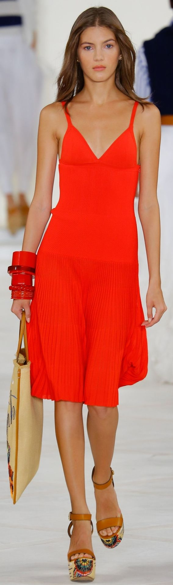 @ralphlauren Amazing red dress for woman. #dress #woman #red
