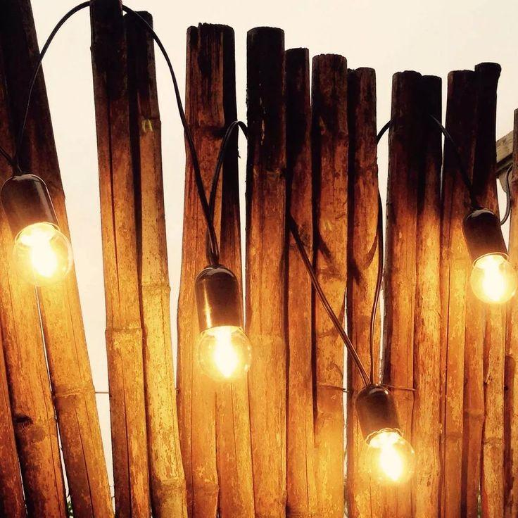 guirnalda de luces kermese bajo consumo